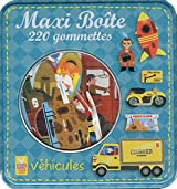Maxi boîte : Véhicules : 220 gommettes