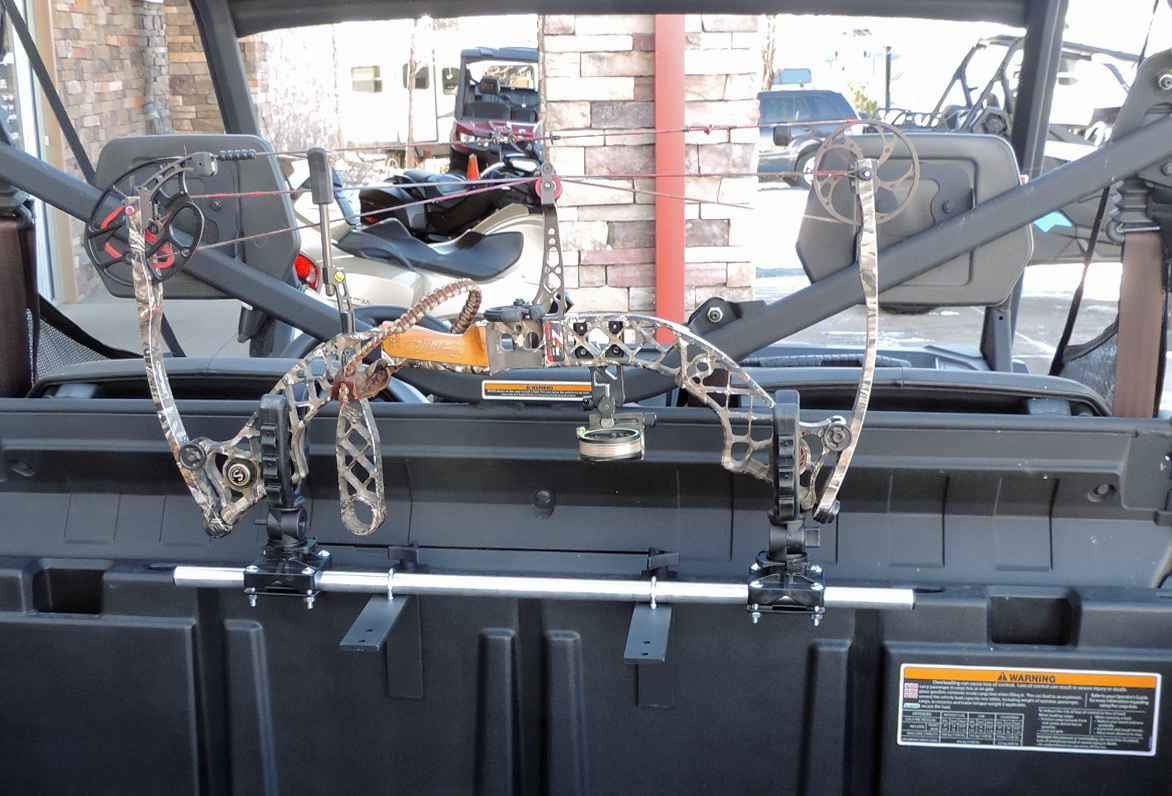 Polaris Ranger and General Single Bow Carrier Hornet Outdoors Made in USA Steel Powder Coated Includes Anchors R-3028 S