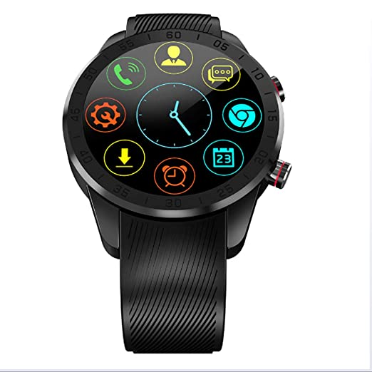 Amazon.com: Smart Watch, Full Netcom Android 7.0 Heart Rate ...