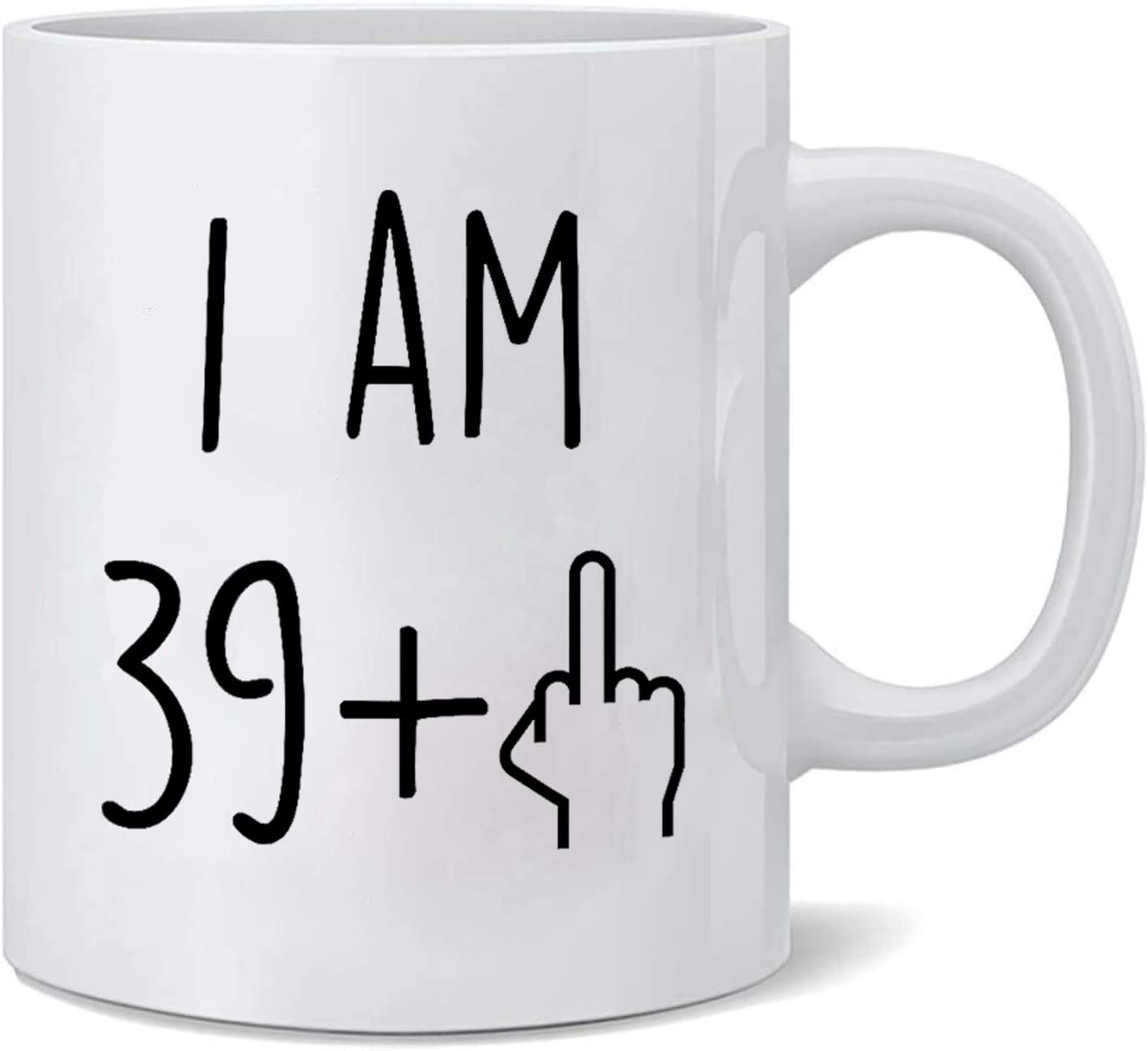 Amazon Com Funny 40th Birthday Mugs For Women And Men Ceramic Coffee Mugs Anniversary For Him Her Husband Or Wife Forty Gag Party Cup Idea Adult Mug For Mom Dad Kitchen