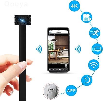 Mini 4K HD Spy Hidden Camera DIY Module Night Vision Video Recorder Wireless Cam