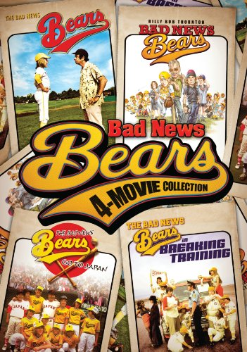 Bad News Bears Four-Movie Collection (Original 1976 Classic / Go to Japan / Breaking Training / 2005 Remake)