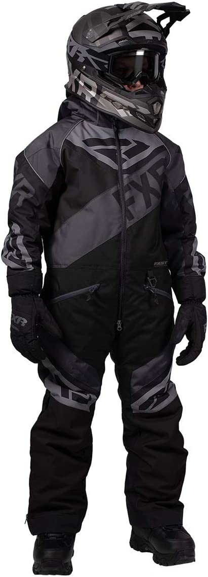 FXR Fuel Youth Snow Monosuit Black Ops 16
