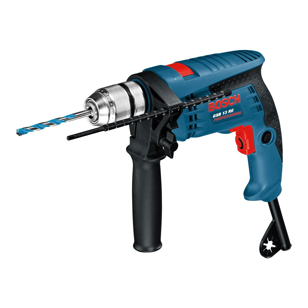 Bosch Professional 0601217100 GSB 13 RE Trapano Battente, Colore: Blu product image