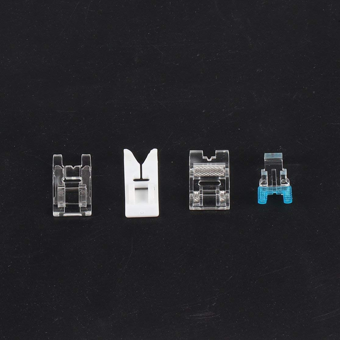 Satz Multifunktionale N/ähmaschine F/ü/ße N/ähfu/ß Ersatzteile Zubeh/ör Haushaltswerkzeuge Universal Pressfu/ß Set Candyboom 11 Teile