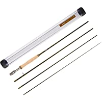 Piscifun Sword Graphite Fly Fishing Rod 4 Piece 9ft - IM7 Carbon Fiber Blank - Accurate Placement - Ingenious Design…