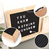 Changable Felt Letter Board with 580