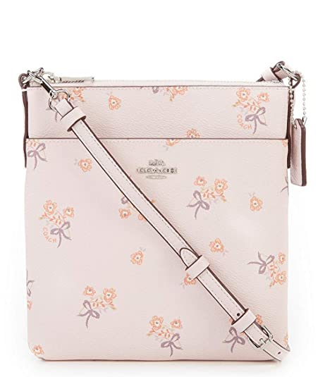 wide selection of designs 100% quality quarantee good Amazon.com: COACH FLORAL BOW PRINT MESSENGER CROSS BODY BAG ...