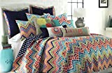Mosaic Chevron Quilt Set (King 3-piece)