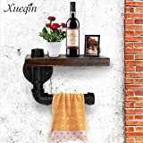 Toilet Paper roll Holder, Water Pipe Industry Style, Retro-Copper