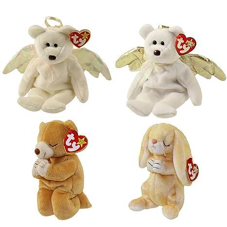 Amazon.com  TY Beanie Babies - ANGELS   PRAYING (Set of 4) (Halo ... 711401e730c