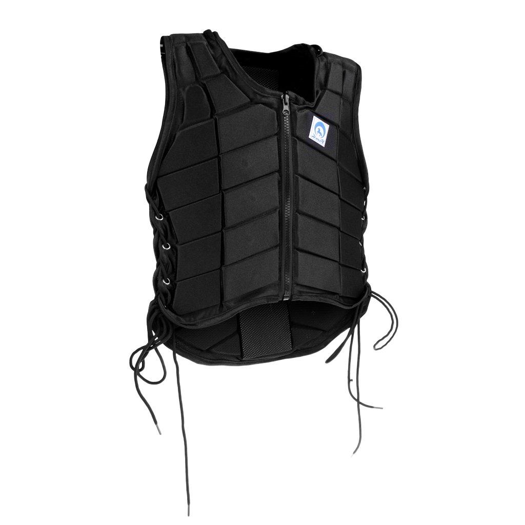 Simhoa Premium EVA Equestrian Body Predector Horse Riding Predection Vest for Adult Kid