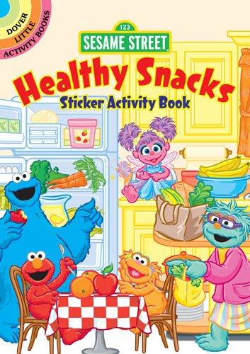 Sesame Street Healthy Sticker Activity