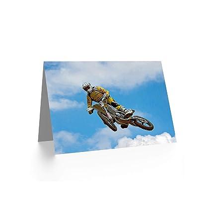 Amazoncom Wee Blue Coo NEW MOTOCROSS DIRT BIKE JUMP SPORT PHOTO