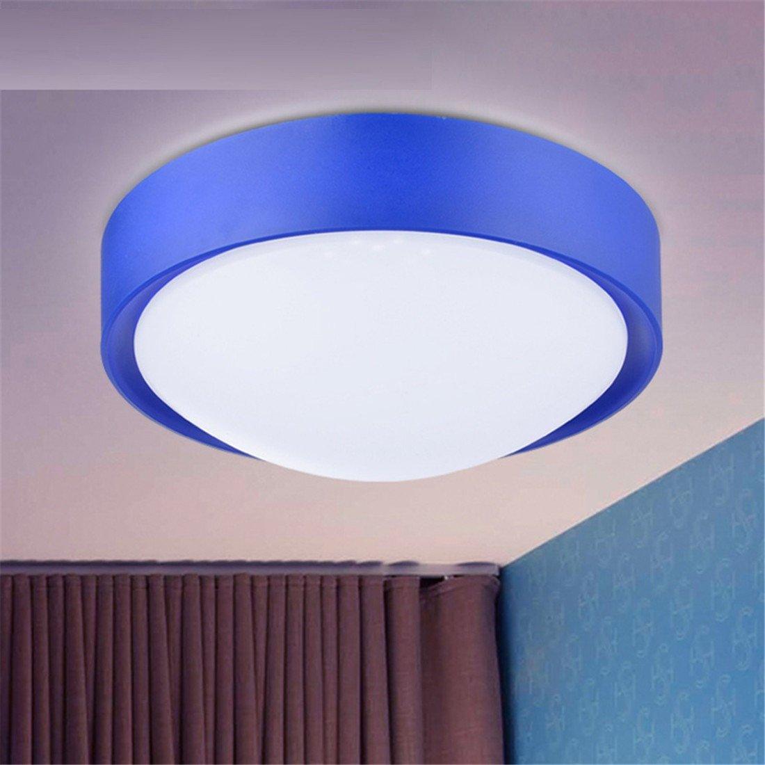 MMYNL Balkon Deckenleuchte kreative Einfache, moderne Küche Lampe Gang Flurlampe Beleuchtung Raumbeleuchtung, Blau