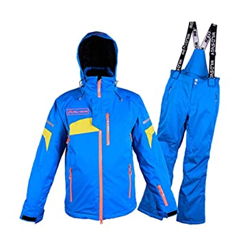 QZHE Traje de esqui Traje De Esquí para Hombre Invierno ...