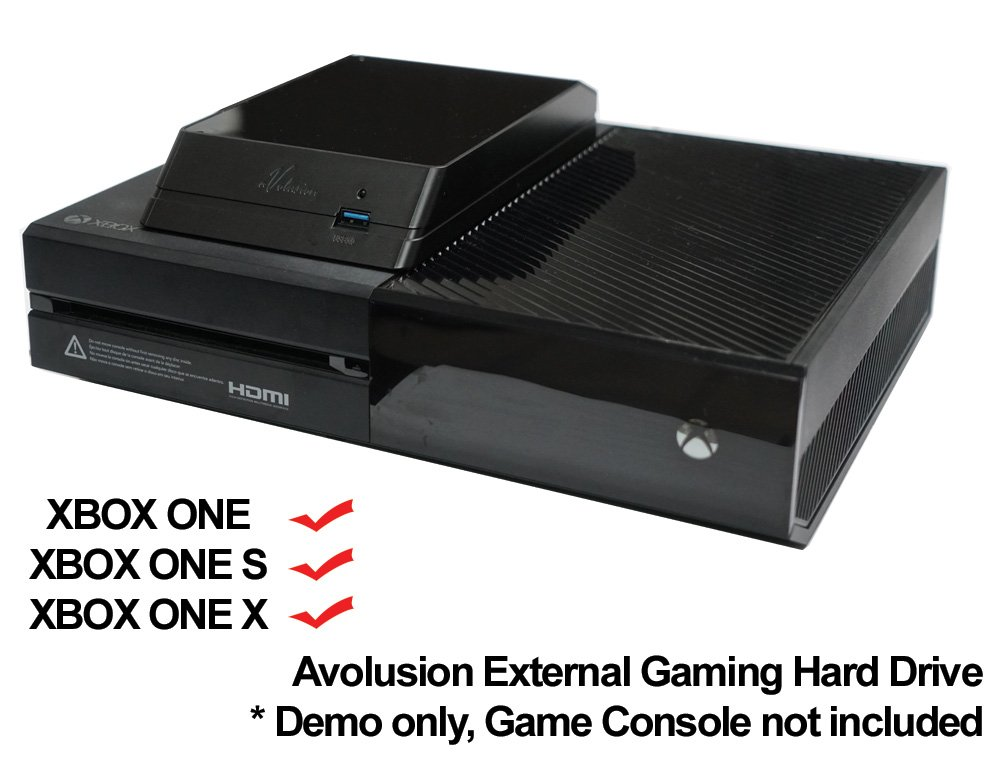 Avolusion HDDGear 2TB (2000GB) USB 3.0 External XBOX Gaming Hard Drive (XBOX Pre-Formatted) - XBOX ONE, XBOX ONE S, XBOX ONE X - 2 Year Warranty by Avolusion (Image #6)