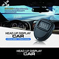 Auto A1 HUD Head Up Display OBD2 Display Speed Controller