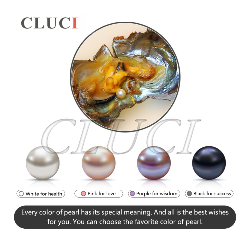 6-7mm Round Akoya Cultured Pearl Oyster 100pcs, 10 Bags(White, Pink, Purple,Dyed Black) by NY Jewelry (Image #4)