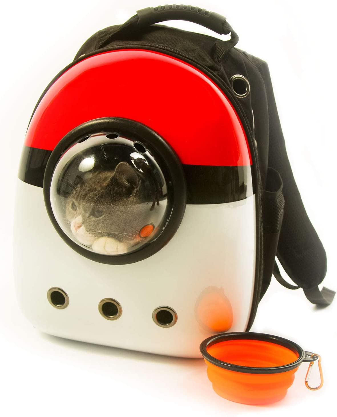 Scurrty Xpect Cat Carrier Bubble Backpack Small Dog Space Capsule Knapsack Pet Travel Bag Waterproof Breathable