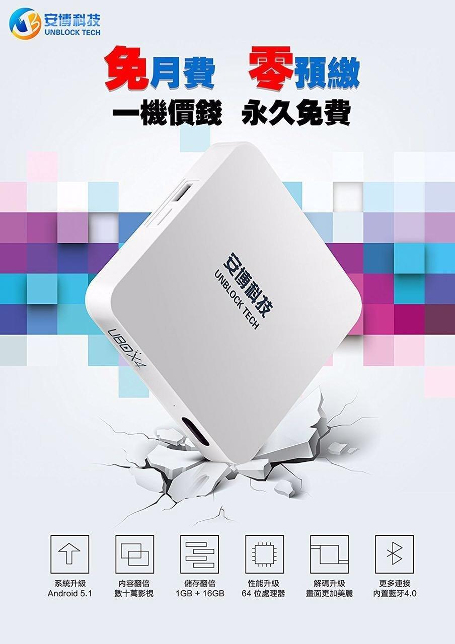 Chihong 2017 Latest Unblock Tech Gen4 S900 Tv Box Probt 16gb