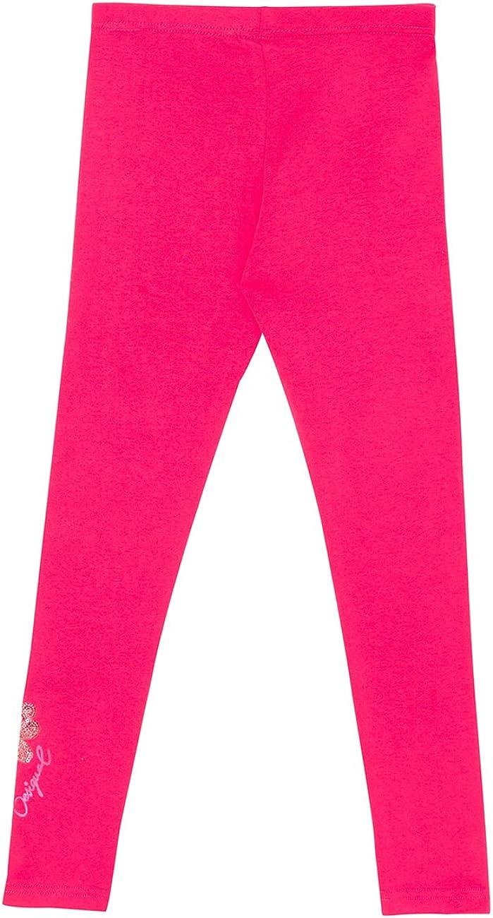 Desigual Girls Pink Leggings