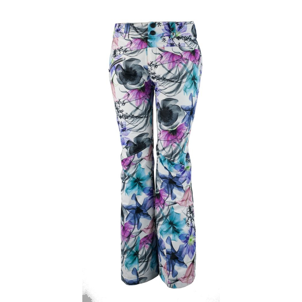 Obermeyer Malta Pant – Women 's B018HQ23M6 14 Long X-Ray Floral X-Ray Floral 14 Long
