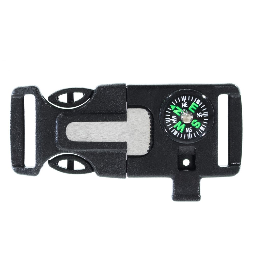 Paracord Planet Kunststoff Seite Release Notfall Survival Utility Schnallen & Whistle Schnallen – wählen Sie aus 1 5,1 cm 5 20,3 cm oder 3 10,2 cm – mehrerer Farbe Optionen – Pack Größen erhältlich