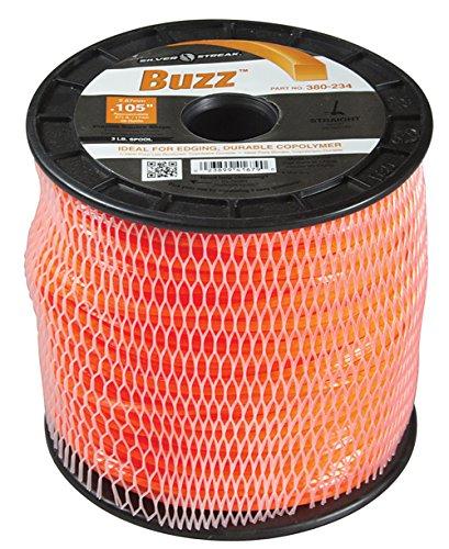Silver Streak Buzz Trimmer Line.105 3 lb. Spool, ea, 1