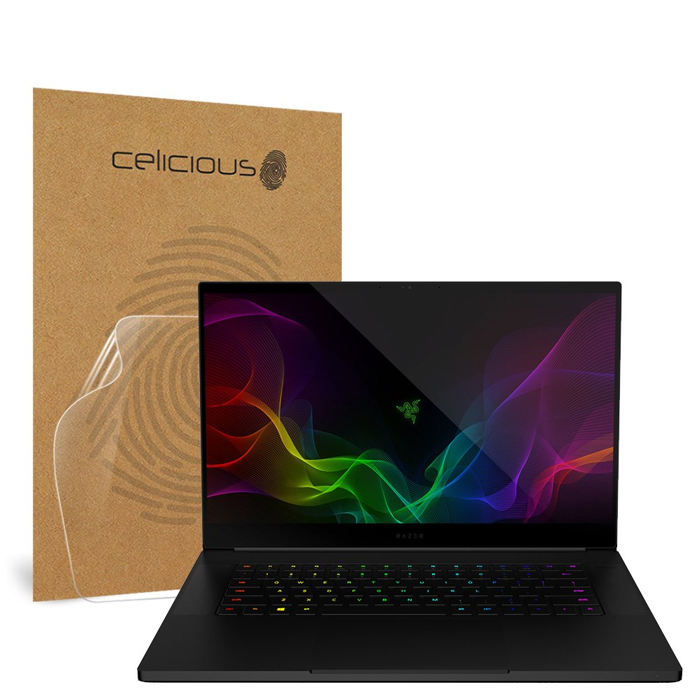 Pack of 2 Non-Touch Celicious Vivid Invisible Glossy HD Screen Protector Film Compatible with Razer Blade Stealth 13 2019