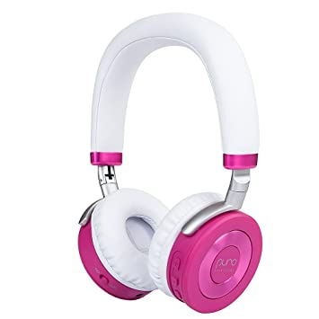 c37472b3383 PuroSound Labs Juniorjams On-Ear Headphones Wireless Foldable Kids  Earphones with Bluetooth, Volume Limiting