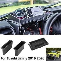 Car Armrest Container Door Storage Box Multifunction Dashboard Storage Box Interior Accessories For Suzuki Jimny 2019…