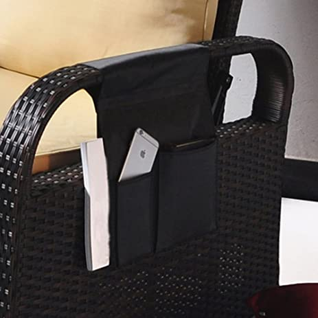 TV Remote Control Organizer Holder, Drapes Over Recliner Chair Armchair  Caddy Pocket, Great For