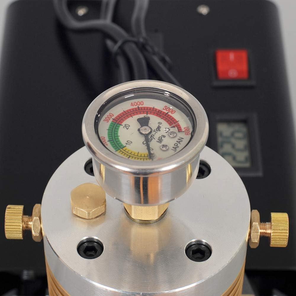 HUKOER Pompe /à air Haute Pression pour usages Multiples Pompe /à Main avec s/éparateur deau int/égr/é et Huile 40MPA