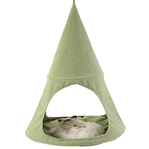 Apisnest Cat Hammock Bed Tent and Cradle