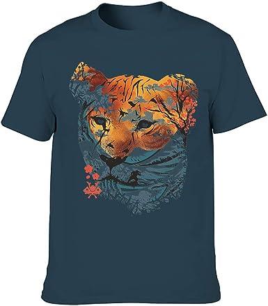 Camiseta de manga corta para hombre, diseño japonés de tigre ...