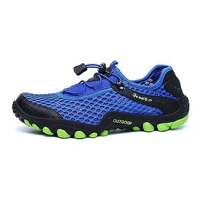 2972787411dea Arcweg Chaussures Aquatiques Chaussons de Plage Antidérapant Respirant  Séchage Rapide Légère Chaussures de Randonnée Marche Trekking