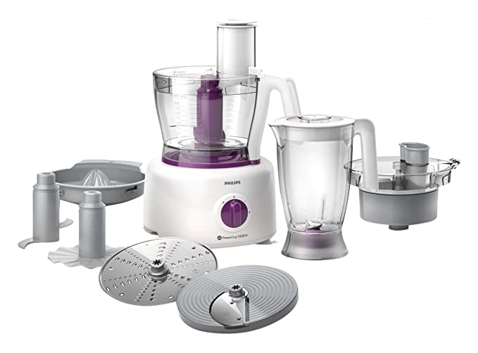 16 opinioni per Philips HR7751/00 Robot da Cucina Multiuso con Frullatore, Triatutto, Centrifuga