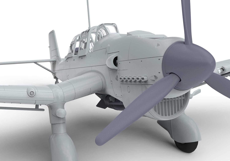 Airfix A03087 - Modellbausatz Junkers JU87 Stuka: Amazon.de: Spielzeug