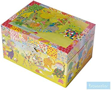Trousselier Caja Joyero Musical Elmer: Amazon.es: Bebé