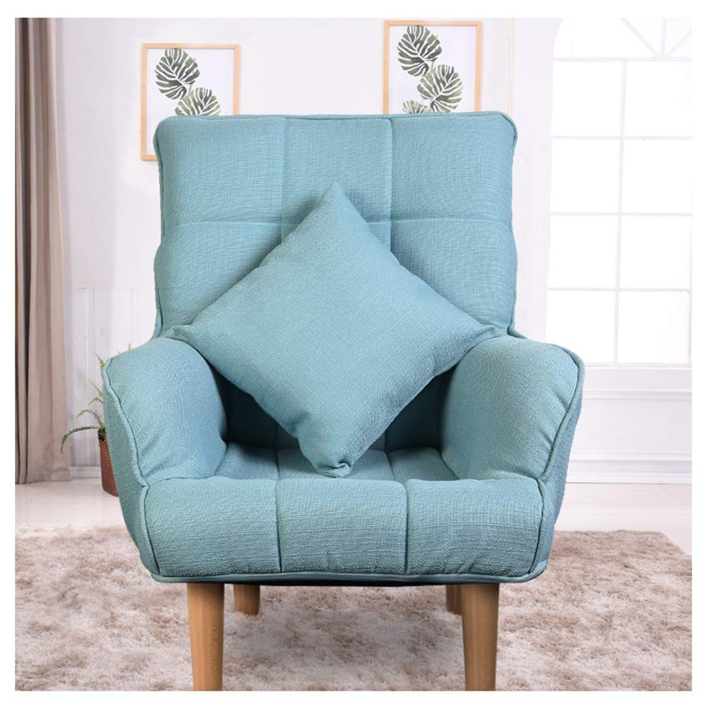 Amazon.com: Lazy couch JUN Single Fabric Sofa Tatami ...