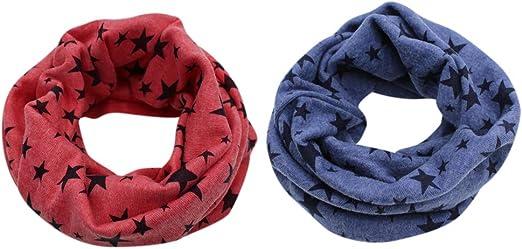 Winter Warm Unisex Neck Warmer Knitted Wool Knitting Shawl Kids Scarf
