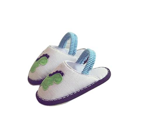 723ae0dbbc9 GDAN Zapatillas de Niños Niños y Niñas Lindos Zapatos de casa de Dinosaurio  Suaves Antideslizantes Zapatos