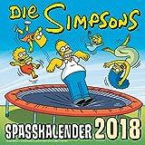 Simpsons Wandkalender 2018: Die Simpsons: Spaßkalender