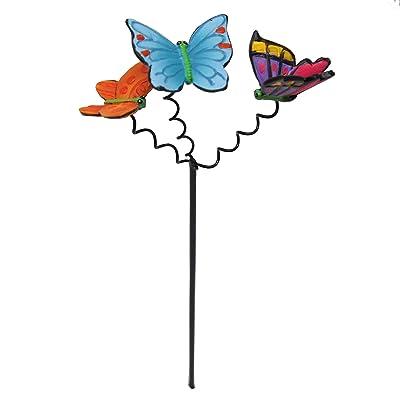 Studio M Miniature Fairy Garden Fluttering Butterflies Pick : Garden & Outdoor
