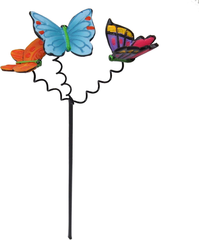 Studio M Miniature Fairy Garden Fluttering Butterflies Pick