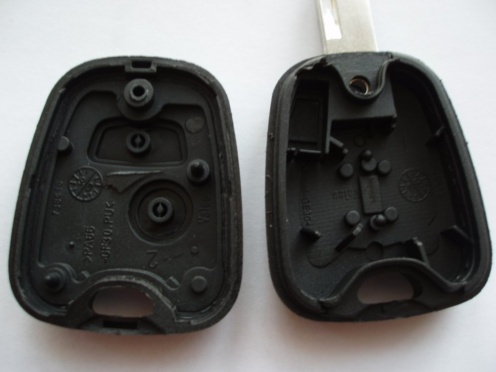 Remotefobcentre A33 Replacement 2 Button Key Fob Case