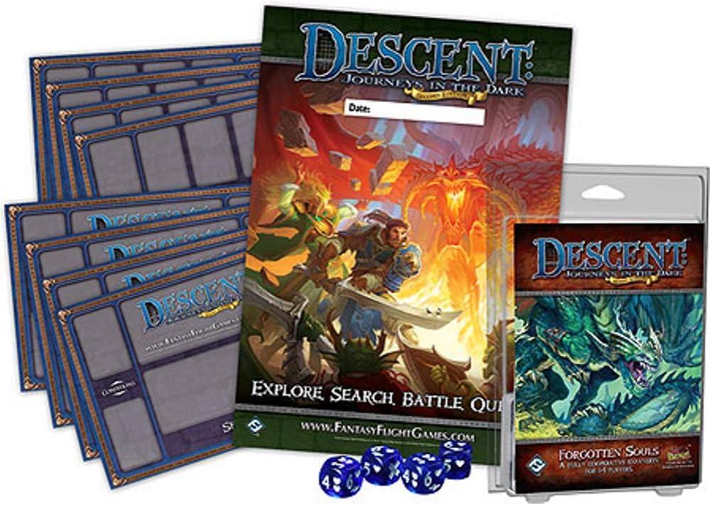 Descent 2 Edition: Forgotten Souls (juego en inglés): Amazon.es: Juguetes y juegos