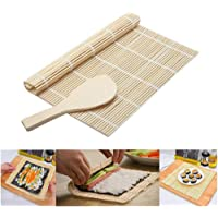 New DIY Mould Roller Mat Rice Paddle Set Sushi Maker Kit Rice Roll Mold Kitchen