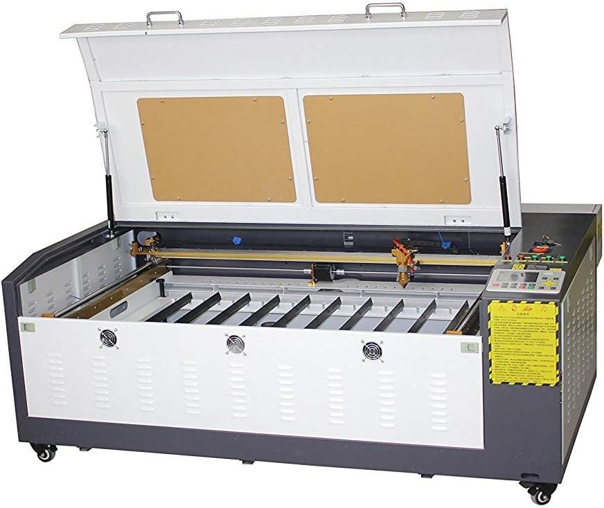 TEN-HIGH 1060 60W Máquina de corte y de grabado,con escritorio pequeña, versión offline, láser Máquina de Grabado, Cortador, DIY 1000x600mm 39.37x23.62 pulgadas: Amazon.es: Bricolaje y herramientas